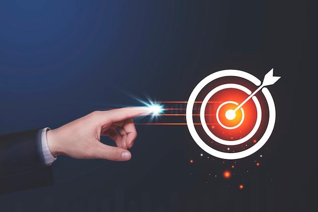 Targeting nel concetto di business del centro di destinazione