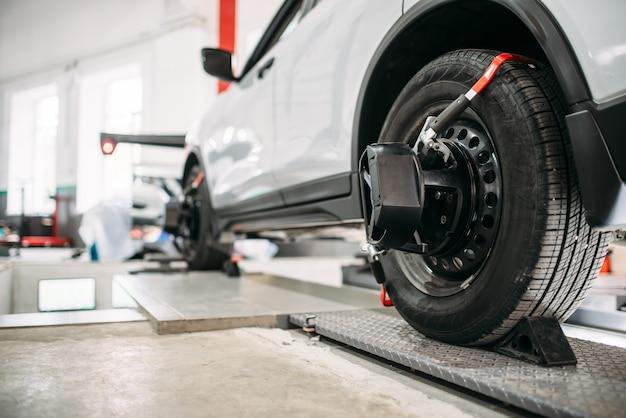 Obiettivi sulle ruote delle auto, crollo della convergenza