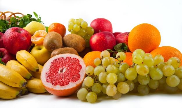 Frutta e verdura di cibo gustoso e sano