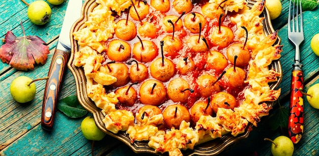 Torta di pere fatta in casa gustosa