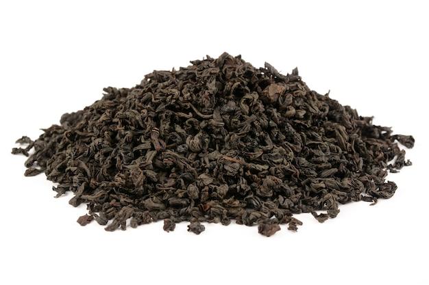 Tè su sfondo bianco
