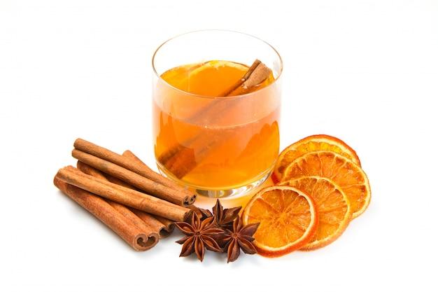 Tè con arance e cannella