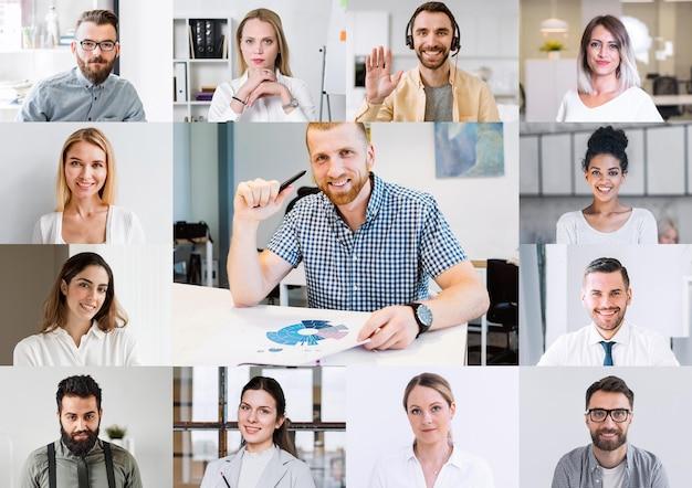Teleconferenza online per riunioni di gruppo