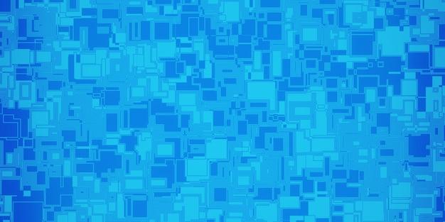 Tecnologia microchip sfondo, modello di circuito digitale