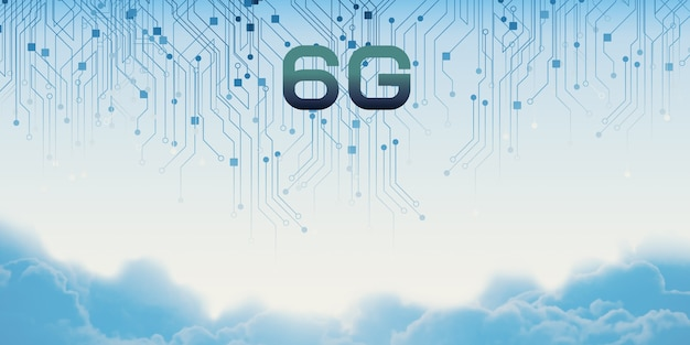 Concetto di comunicazione internet mobile ad alta velocità della rete tecnologica