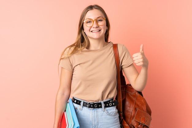 Ragazza studentessa ucraina adolescente