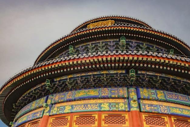 Tempio del cielo o tiantan in nome cinese nella città di pechino
