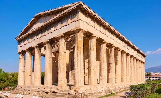 Tempio di efesto ad atene, grecia