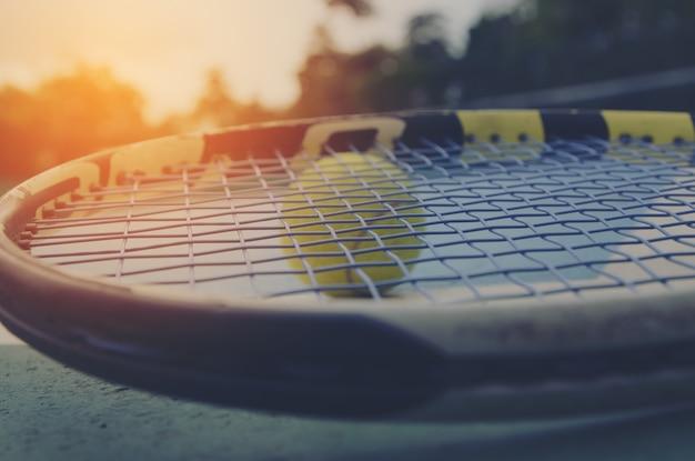 Sfondo del campo da tennis