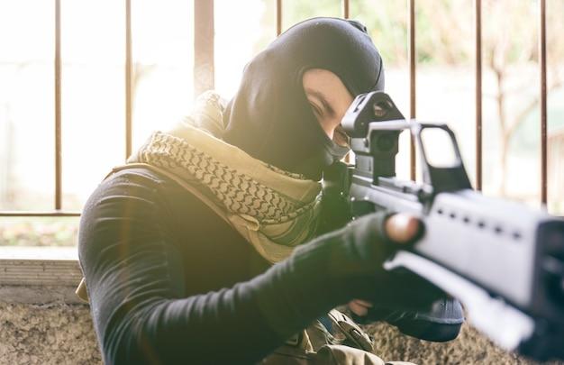 Tiro terroristico