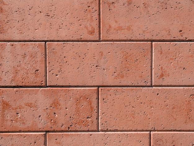 Texture di pietra artificiale. recinzione in pietra.