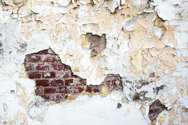 Intonaco di vernice scrostata di sfondo texture.