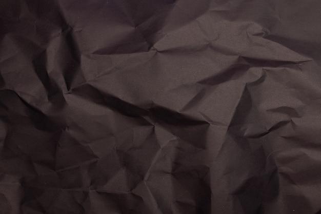 Texture o sfondo di carta stropicciata dettagliata