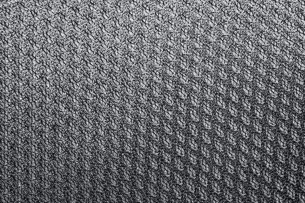 Sfondo texture di tessuto in poliestere. modello in tessuto a trama plastica