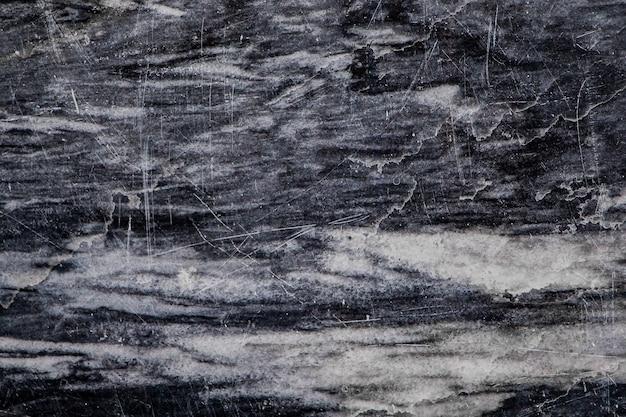 Texture di marmo nero con vene bianche in primo piano