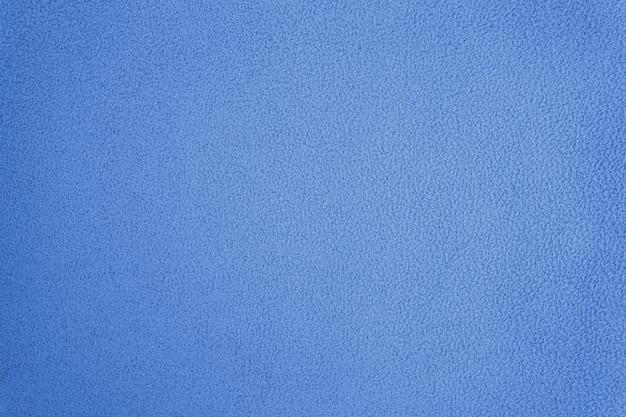 Trama di tessuto di cotone felpato blu non uniforme
