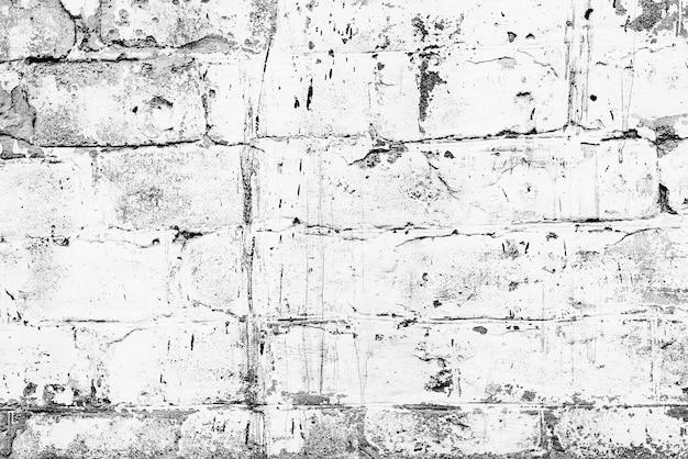 Texture, mattoni, muro. texture di mattoni con graffi e crepe