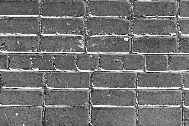 Texture, mattoni, muro, può essere utilizzato come sfondo. texture di mattoni con graffi e crepe
