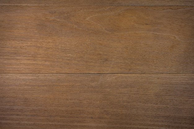 Struttura di fondo di superficie di legno marrone. angolo di visione dall'alto.