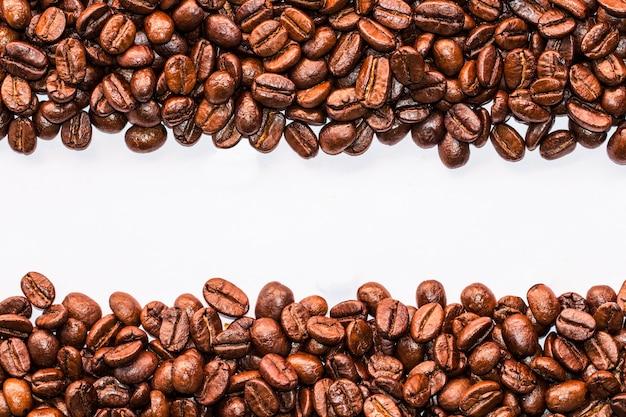 Texture di chicchi di caffè che adatto per lo sfondo