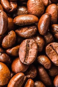 Texture di chicchi di caffè che adatto per lo sfondo.