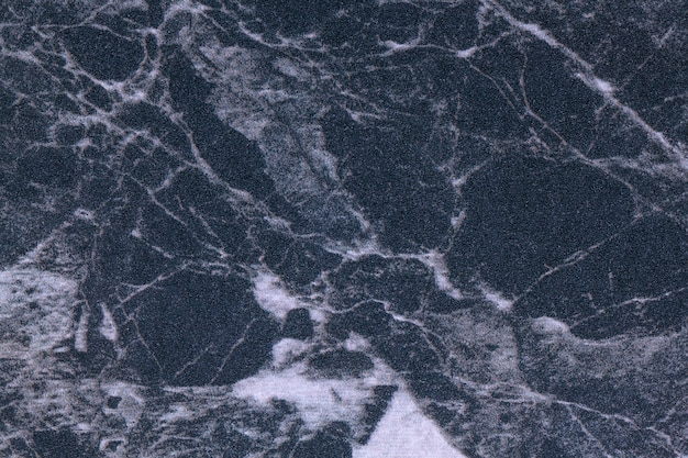 Texture di marmo blu e grigio scuro, sfondo macro.