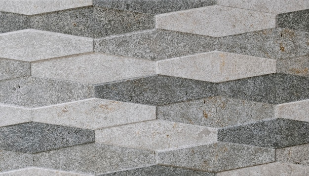 Texture di piastrelle decorative che formano figure geometriche