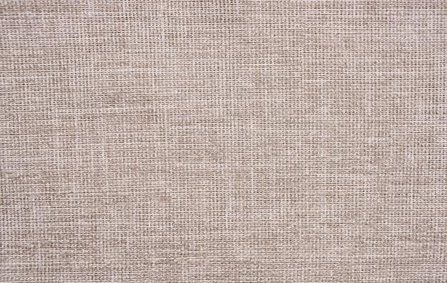 Trama dell'immagine tessuto grigio di una borsa