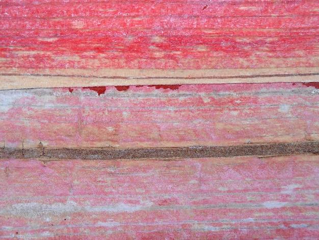 Trama orizzontale stecca di legno rosso sfondo naturale