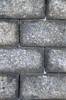 Texture del muro di grandi blocchi di pietre