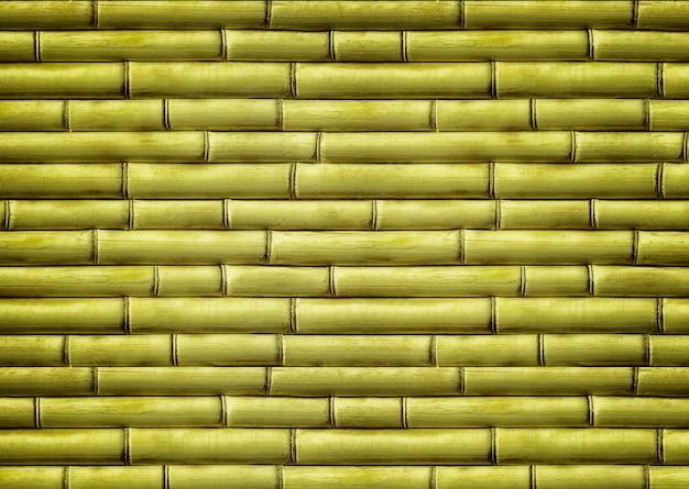 Texture sfondo natura, colore vecchio materiale, legno, struttura di bambù verde