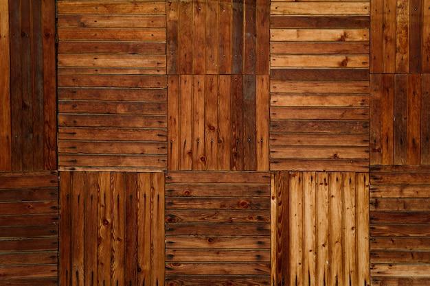 Texture di vecchie tavole e la corteccia di un albero