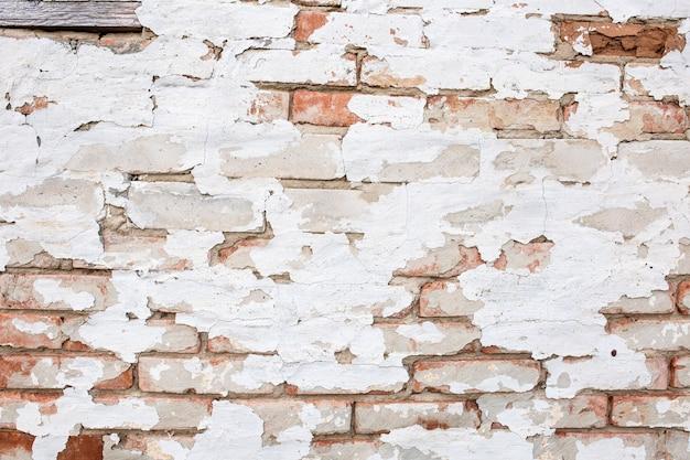 Texture del vecchio muro di mattoni di fondo