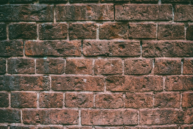Texture di un vecchio muro di mattoni dettagli