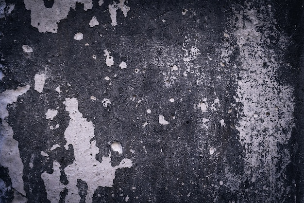 Texture del vecchio grungy muro di cemento grigio per sfondo, copia dello spazio.