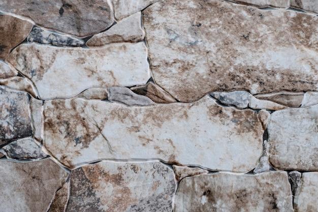 Texture di una vecchia pietra di mattoni chiari