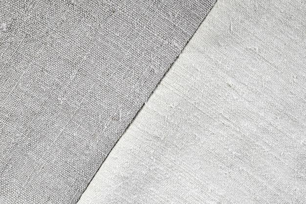 Texture di vecchio lino e tessuto di canapa