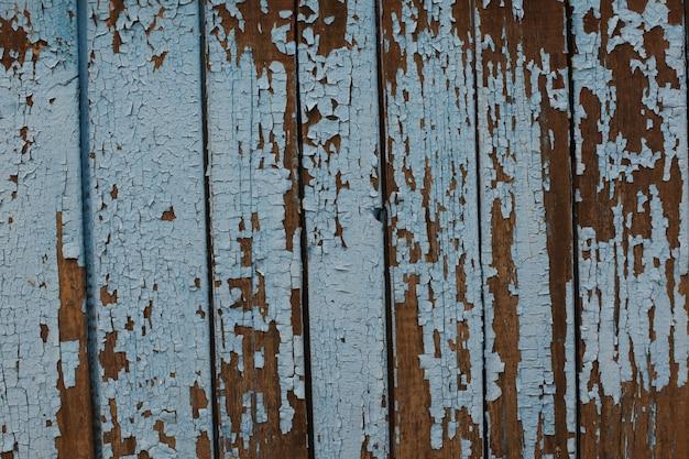 Texture di un vecchio albero, bordo con vernice, sfondo vintage