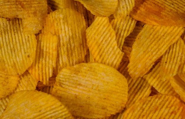 Consistenza delle patatine per lo sfondo