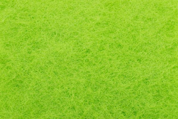 Colore verde spugna trama