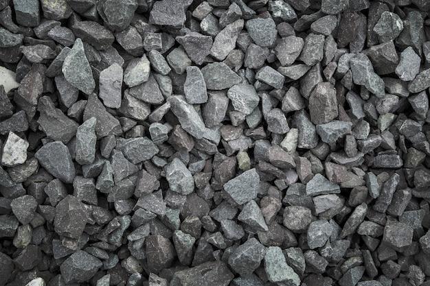 Texture di pietra sul terreno per una costruzione forte