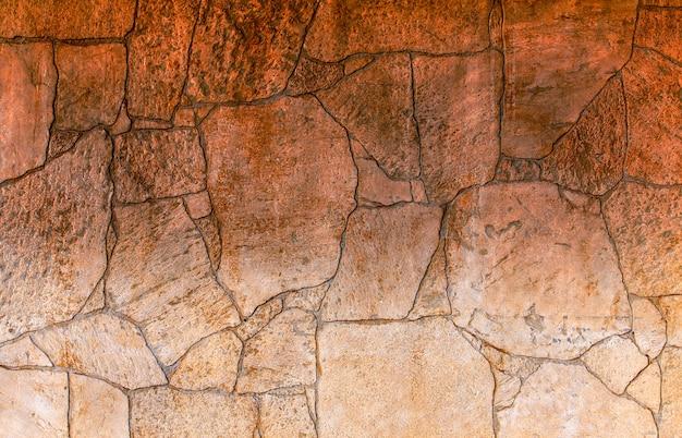 Texture del muro di pietra.
