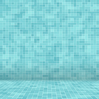 Texture piscina sfondo di piastrelle a mosaico.