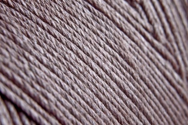 Texture di filo avvolto su una bobina. avvicinamento.