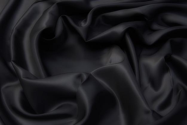 Trama del tessuto di viscosa in grigio. sfondo, modello.