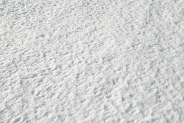 Texture di neve bianca può essere utilizzata per lo sfondo.