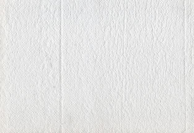 Struttura del fondo bianco della carta igienica del tessuto