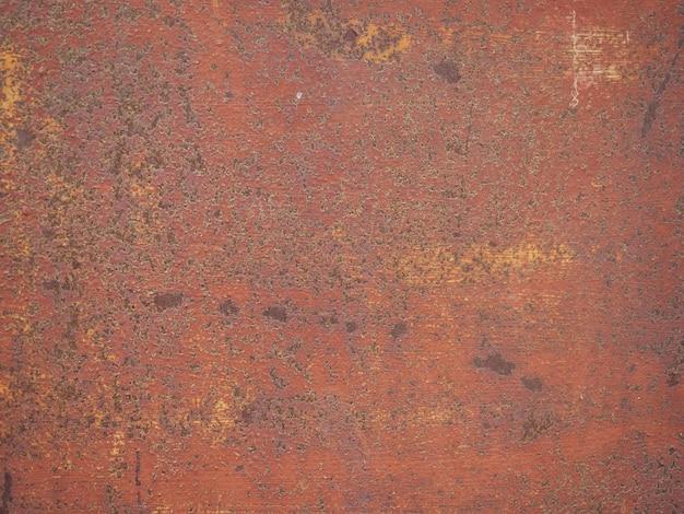 Texture con vecchia ruggine su metallo.