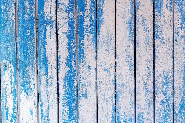 Struttura del modello di dettagli del pannello blu in legno