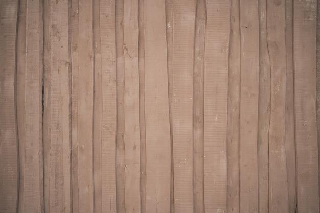 La trama del legno per lo screensaver marrone beige con doghe in legno